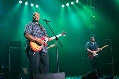 Festival 2014 dei blu di Rawa: Shawn Holt & le lacrime Fotografie Stock