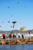 Festival dei cervi volanti Fotografie Stock