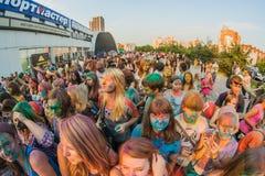 Festival dei colori fotografia stock