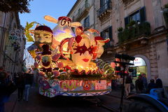 Festival dei Fiori in Acireale Stockfotografie