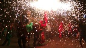 Festival dei fuochi d'artificio immagine stock