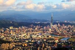 Festival dei fuochi d'artificio in Taiwan Fotografia Stock Libera da Diritti