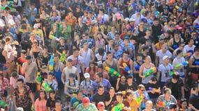 Festival del Año Nuevo tailandés y del agua Imágenes de archivo libres de regalías