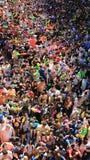 Festival del Año Nuevo tailandés y del agua Turista de la diversión y de la felicidad Fotografía de archivo libre de regalías