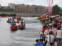 Festival del barco del dragón en Guizhou Huishui Fotos de archivo