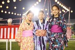 Festival del bon-Odori en el Sah Alah, el 5 de septiembre de 2015 Foto de archivo libre de regalías