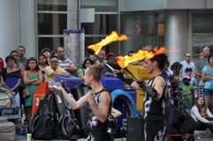 Festival del Busker de Ottawa Imagen de archivo