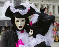 Festival del carnaval de Venecia Fotos de archivo
