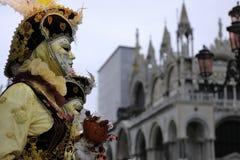 Festival del carnaval de Venecia Imagen de archivo libre de regalías