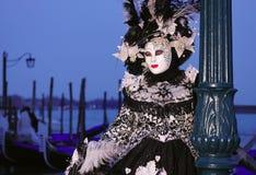 Festival del carnaval de Venecia Fotografía de archivo libre de regalías