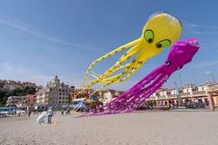 Festival del cervo volante, Imperia, Italia fotografia stock