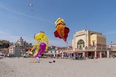 Festival del cervo volante, Imperia, Italia fotografie stock