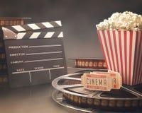 Festival del cine stock de ilustración