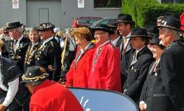Festival del corno alpino Immagine Stock