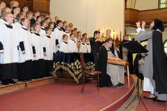 Festival del coro de la juventud Imagenes de archivo