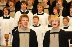 Festival del coro de la juventud Fotos de archivo libres de regalías