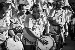 Festival 2018 del desfile de Phi Ta Khon Fotos de archivo
