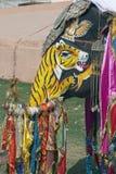 Festival del elefante indio Fotos de archivo