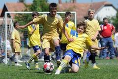 Festival del fútbol del niño Fotografía de archivo
