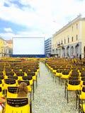Festival Del film Locarno Stockbild