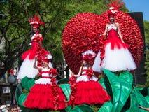 Festival 2013 del fiore del Madera Fotografie Stock