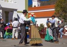 Festival del fiore della mandorla di Tejeda Fotografia Stock