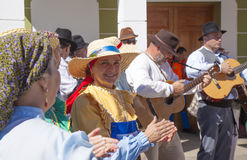 Festival del fiore della mandorla di Tejeda Immagini Stock Libere da Diritti
