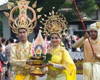 Festival del fiore della Tailandia Chiang Mai Fotografie Stock Libere da Diritti