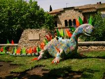 Festival del fiore - lotto del vestito Gerone& x27 dal fiore; città di s - Spagna Fotografia Stock