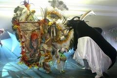 Festival del folklore de Parintins en el Brasil Fotos de archivo