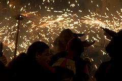 Festival del fuego Foto de archivo libre de regalías