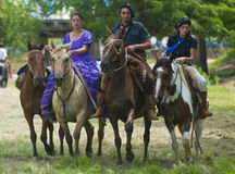 Festival del gaucho fotografie stock libere da diritti