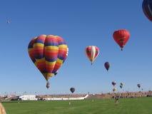 Festival del globo del aire caliente de Albuquerque New México imagen de archivo libre de regalías