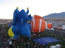 Festival del globo del aire caliente de Albuquerque New México fotos de archivo libres de regalías