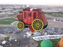 Festival del globo del aire caliente de Albuquerque New México fotografía de archivo