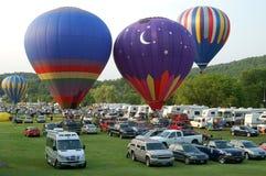 Festival del globo de Quechee Vermont Imágenes de archivo libres de regalías