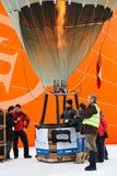 Festival del globo del aire caliente 2012, Suiza Fotos de archivo libres de regalías
