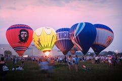 Festival del globo del aire caliente Fotos de archivo libres de regalías