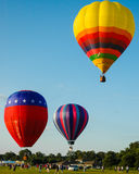 Festival del globo del aire caliente Foto de archivo libre de regalías