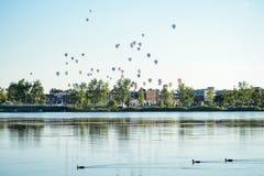 Festival del globo del aire caliente Fotografía de archivo libre de regalías