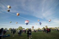 Festival del globo del aire caliente de Temecula Imágenes de archivo libres de regalías