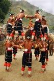 Festival del Hornbill de la Nagaland-India. Imagen de archivo
