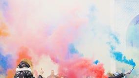 Festival del humo coloreado metrajes
