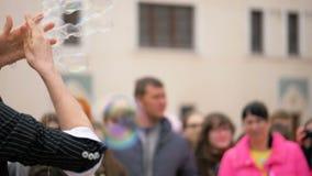 Festival del humo coloreado - 180 fps a cámara lenta metrajes