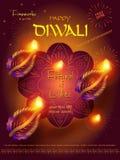 Festival del indio de Diwali stock de ilustración