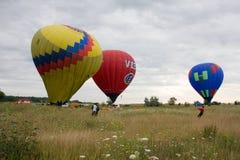 Festival del international II de la aeronáutica Fotografía de archivo