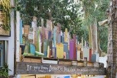 Festival del invierno del arte del serrín en el Laguna Beach imagenes de archivo