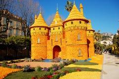 Festival del limón (Fete du Citron) - Menton, Francia Imagen de archivo