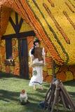 Festival del limone di Menton fotografia stock libera da diritti