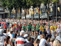 Festival del mare di Klaipeda Fotografia Stock